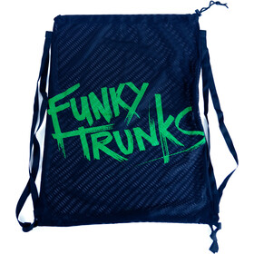 Funky Trunks Bolsa Malla Equipamiento Hombre, azul/verde